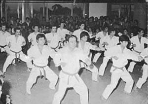 Demonstracion of a practice (Year 1976)